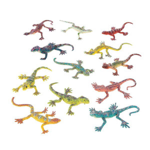Glitter Lizards-12 Pack