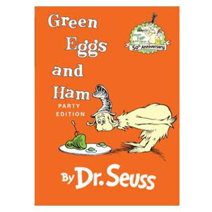 Green Eggs and Ham Book by Dr. Seuss