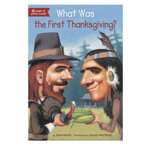 What Was the First Thanksgiving? Book