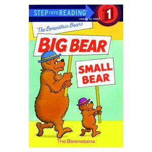 Big Bear, Small Bear Reader-Step 1