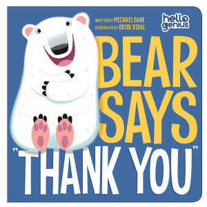 "Bear Says ""Thank You"" Board Book"