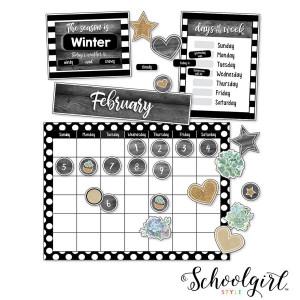 Simply Stylish Calendar Bulletin Board