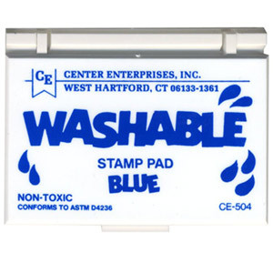 Blue Washable Stamp Pad