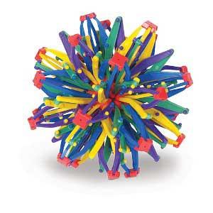 Mini Rainbow Hoberman Sphere
