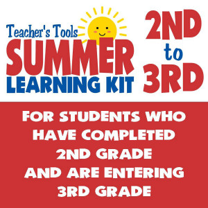 Summer Learning Kit-Between Grades 2 & 3