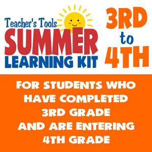 Summer Learning Kit-Between Grades 3 & 4