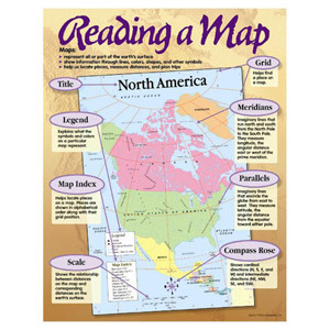 Reading A Map Poster