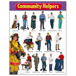 Community Helpers Poster