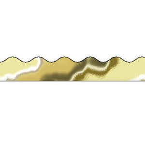 Metallic Gold Border