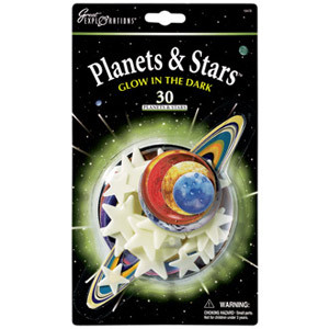 Planets & Stars - Glow-in-the-Dark