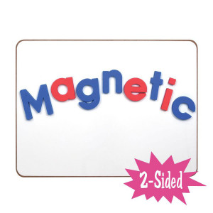 Magnetic Blank Dry Erase Board-2 Sided