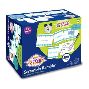 Scramble Ramble Game-High Energy Word Game