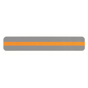 Orange Reading Guide Strip