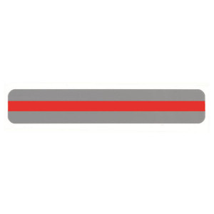 Red Reading Guide Strip