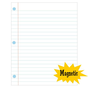 """Magnetic Large Notebook Page-12"""" x 15"""""""