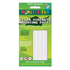 Monster Tak-Extra Strength Mounting Putty