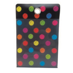 Chalk Dots Small Poly Pockets-Set of 10