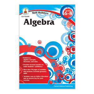 Algebra Skill Builders Workbook-6-8