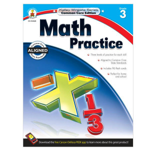 Kelley Wingate: Math Practice Book-Grade 3
