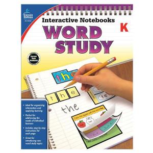 Interactive Notebooks Word Study- Kindergarten