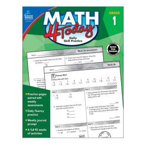 Math 4 Today Book-Grade 1