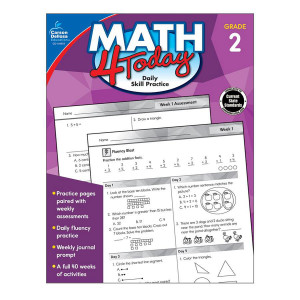 Math 4 Today Book-Grade 2