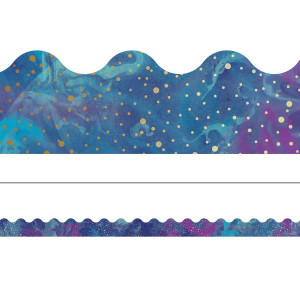Galaxy Scalloped Border