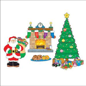 Christmas Scene Bulletin Board