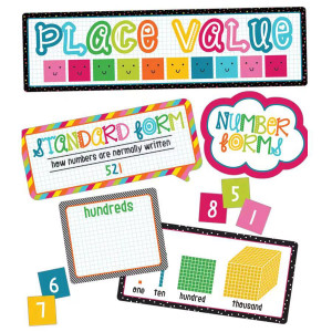 School Pop Place Value Mini Bulletin Board