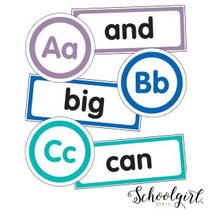 Schoolgirl Style Word Wall Bulletin Board