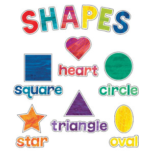 World of Eric Carle Shapes Mini Bulletin Board