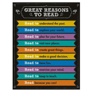 Great Reasons to Read Poster