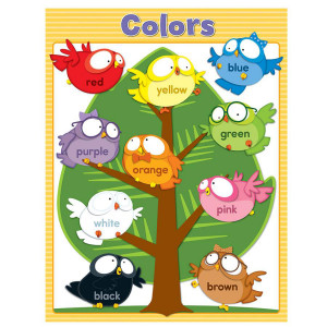Owl Pals Color Poster