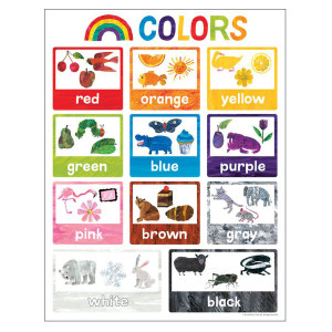 The World of Eric Carle Colors Poster