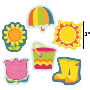 Spring Mix Mini Cut-Outs