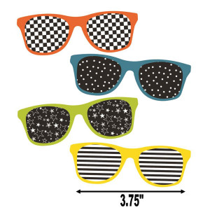 School Pop Sunglasses Mini Cut-Outs