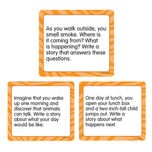 Narrative-Story Starters Curriculum Cut-Outs
