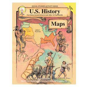 US History Maps Book 5-8+