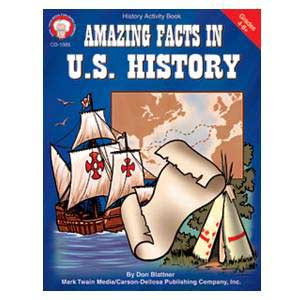 Amazing Facts in US History Book 4-8+
