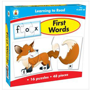 Learning to Read! First Words Game
