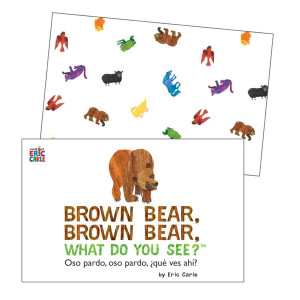 Brown, Bear, What Do You See? Learning Cards