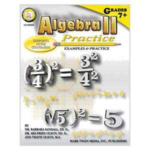 Algebra II Practice Book
