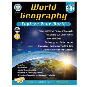 World Geography Book Grades 5-8+