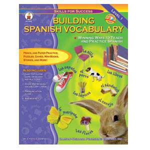 Build Spanish Vocabulary Book