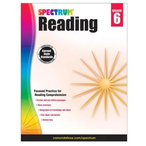 Spectrum Reading Book-Grade 6