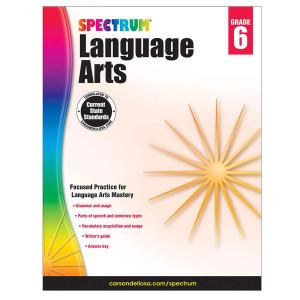Spectrum Language Arts Book-Grade 6