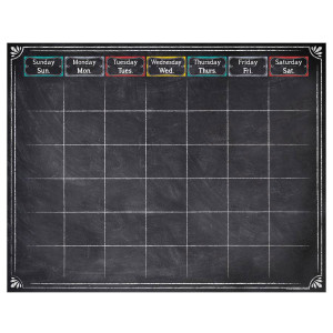 Chalk It Up! Large Calendar Poster