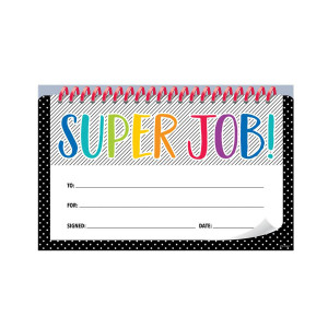 Bold & Bright Super Job! Award