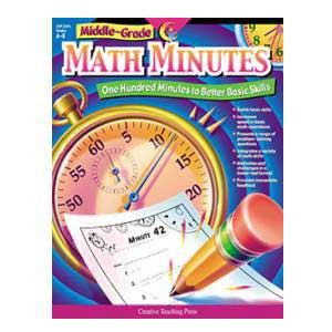 Math Minutes- Middle Grades