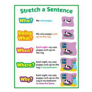 Stretch A Sentence Poster